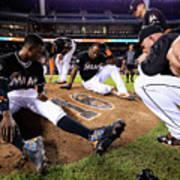 New York Mets V Miami Marlins Poster