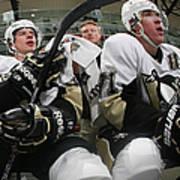 Pittsburgh Penguins V New York Islanders Poster