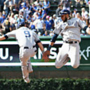 San Diego Padres V Chicago Cubs Poster