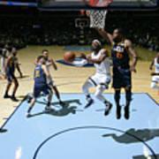 Utah Jazz V Memphis Grizzlies Poster