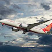 Air India Boeing 787-8 Dreamliner Poster