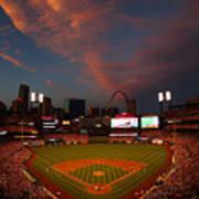 Atlanta Braves V St Louis Cardinals Poster