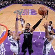 Detroit Pistons V Sacramento Kings Poster