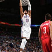 Houston Rockets V Oklahoma City Thunder Poster