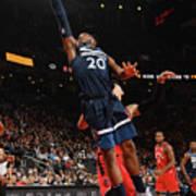 Minnesota Timberwolves V Toronto Raptors Poster