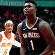 New Orleans Pelicans V Atlanta Hawks Poster
