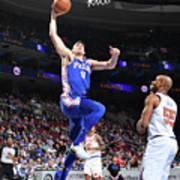 Philadelphia 76ers V New York Knicks Poster
