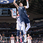 Washington Wizards V Dallas Mavericks Poster