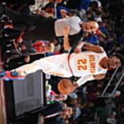 Atlanta Hawks V Detroit Pistons Poster