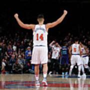 Charlotte Hornets V New York Knicks Poster
