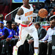 Detroit Pistons V Atlanta Hawks Poster