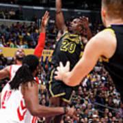 Houston Rockets V Los Angeles Lakers Poster