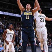 New Orleans Pelicans V Denver Nuggets Poster