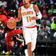 Philadelphia 76ers V Atlanta Hawks Poster