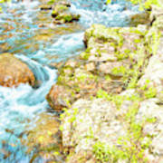 Pocono Mountain Stream, Pennsylvania Poster