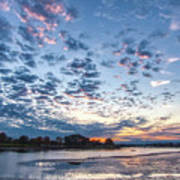 Danvers River Sunset Poster