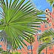 A Don Cesar Palm Frond Poster