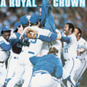 A Royal Crown 1985 World Series Sports Illustrated Cover Poster