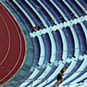 A Stadium Workout Poster