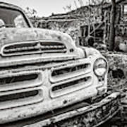 Abandoned Ghost Town Studebaker Truck Poster