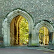 Abbey Gateway St Albans Hertfordshire Poster