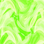 Abstract Waves Painting 0010076 Poster
