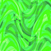 Abstract Waves Painting 0010082 Poster