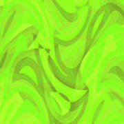 Abstract Waves Painting 0010093 Poster