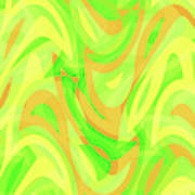 Abstract Waves Painting 007178 Poster