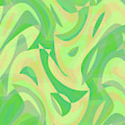 Abstract Waves Painting 007216 Poster
