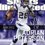 A.d. 2012 The Year Of Adrian Peterson Sports Illustrated Cover Poster
