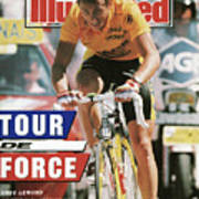 Adr Agrigel Greg Lemond, 1989 Tour De France Sports Illustrated Cover Poster