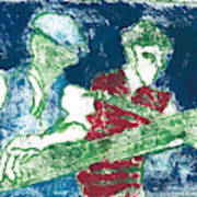 After Billy Childish Painting Otd 33 Poster