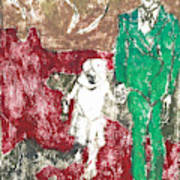 After Billy Childish Painting Otd 43 Poster