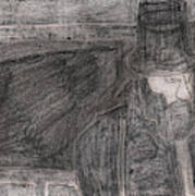 After Billy Childish Pencil Drawing 32 Poster