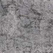 After Billy Childish Pencil Drawing 5 Poster