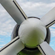 Aircraft Propellers. Poster