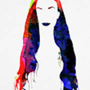 Alanis Watercolor II Poster