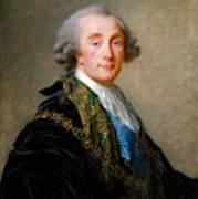 Alexandre Charles Emmanuel De Crussol Florensac        Poster