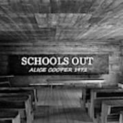 Alice Cooper Schools Out Poster