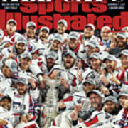 All Caps Washington Capitals, 2018 Nhl Stanley Cup Champions Sports Illustrated Cover Poster