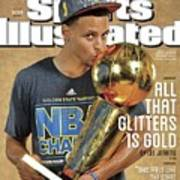 All That Glitters Is Gold Sports Illustrated Cover Poster