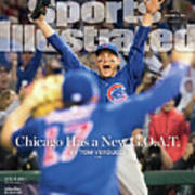 All The Way Chicago Has A New G.o.a.t. Sports Illustrated Cover Poster