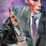 American Psycho Painting Poster