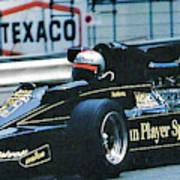 Andretti Monaco 78 Poster