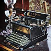 Antique Typewriter 2 Poster