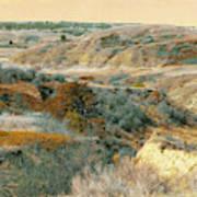 April Domain In Dakota West Poster