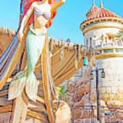 Ariel, The Little Mermaid, Walt Disney World Poster