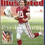 Arizona Cardinals Pat Tillman, An Athlete Dies A Soldier Sports Illustrated Cover Poster