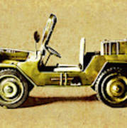 Army Jeep Poster